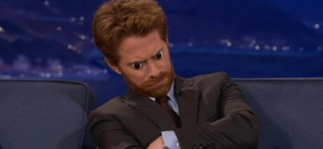 Video Licks: Seth Green sports Googly Eyes on Conan