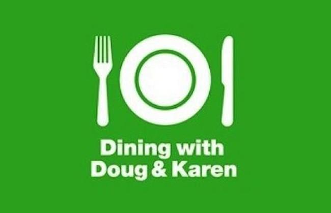 Fine Vines: Dining with Doug & Karen @lapodfest