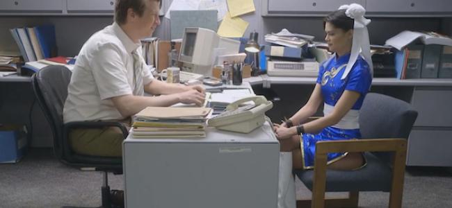"Video Licks: Chun-Li's ""Office Attire"" Comes Into Question on TPHS"
