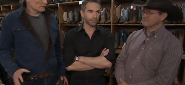 Video Licks: Jordan Schlansky Gets a Cowboy Makeover on CONAN Dallas