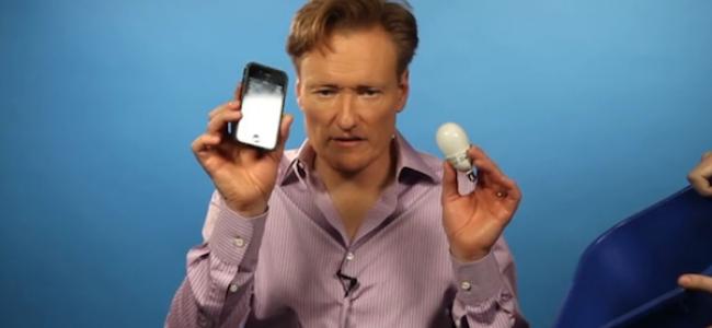 Video Licks: Watch CONAN Get Uber Stressed Testing Stress Apps