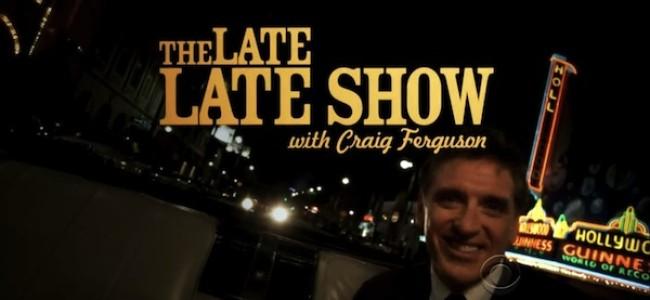 Tasty News: Craig Ferguson Announces He's Leaving The Late Late Show