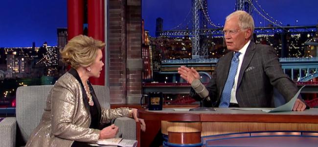 Video Licks: Watch Letterman Walk Out on Joan Rivers CNN-style