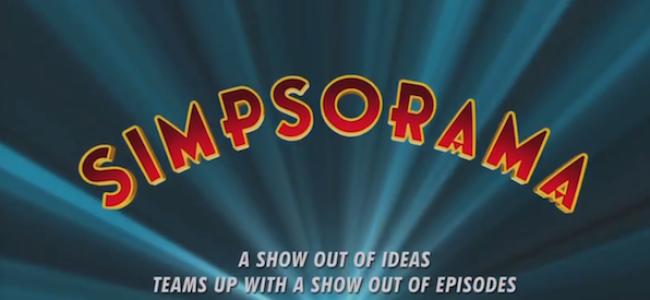 "Tasty News: Brace Yourselves for ""Simpsorama"" Sunday 11.9"