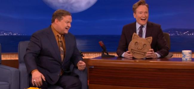 Video Licks: The Handcrafted Wood Emojis Return to CONAN