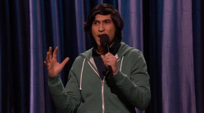 Video Licks: Watch Last Comic Standing's Alingon Mitra on CONAN