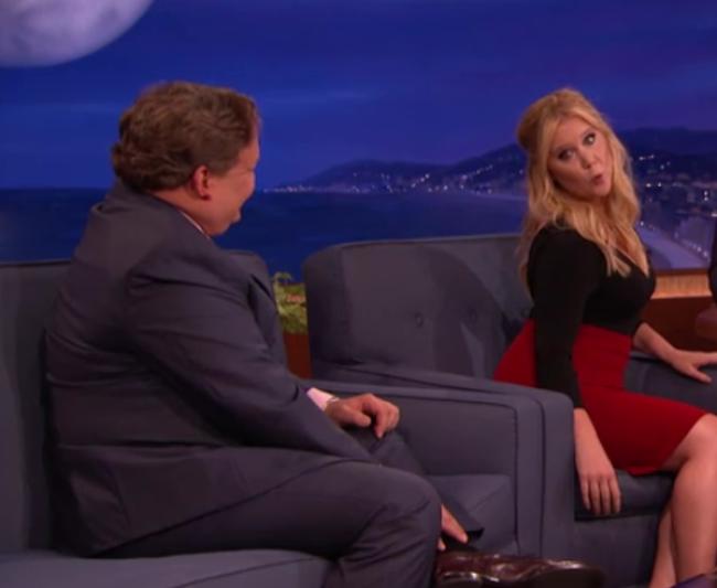 Video Licks: Amy Schumer Visits CONAN, Laughs Ensue