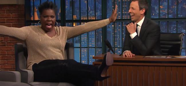 Video Licks: LESLIE JONES Talks <em>Ghostbusters</em> and Twitter Haters on <em>Late Night with Seth Meyers</em>