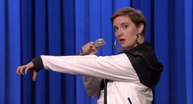 Video Licks: Watch This Rockin' Lip Sync Battle Between Lena Dunham & Jimmy Fallon
