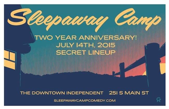 Quick Dish: Come Celebrate SLEEPAWAY CAMP's 2-Year Anniversary TOMORROW 7.14