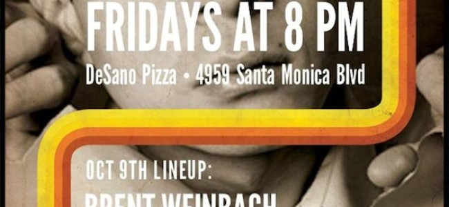 Quick Dish: TONIGHT 10.9 Stir Up The Comedy SAUCE at DeSano Pizza