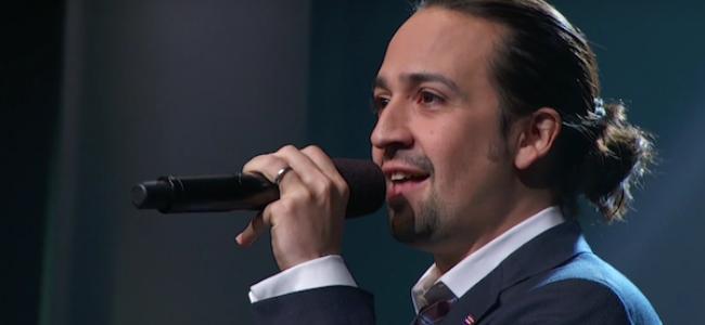 Video Licks: 'Hamilton' Creator Lin-Manuel Miranda Raps About Puerto Rico on LAST WEEK TONIGHT