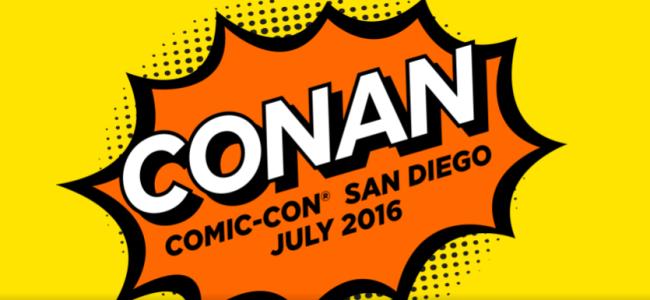 Tasty News: CONAN at Comic-Con 2016 + Exclusive Pop! Vinyl Figures