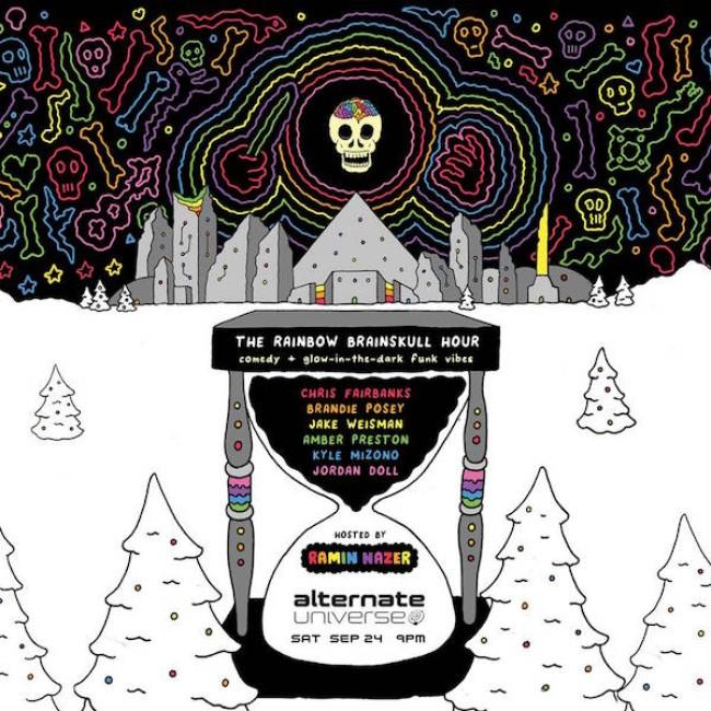 Quick Dish LA: The Rainbow Brainskull Hour SATURDAY 9.24 at The Alternate Universe