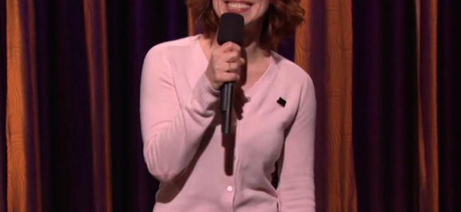 Video Licks: Watch ALICE WETTERLUND Joke About Motherhood, Feminism & Musicians on CONAN