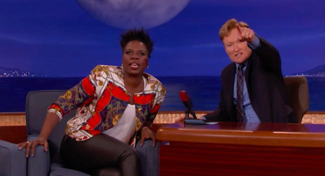 Video Licks: LESLIE JONES Talks About Her Penchant for Goofy Men on CONAN
