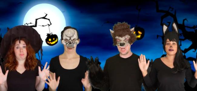"Video Licks: MATT HARBERT Sings An Extra Frightening Song of ""Halloween Scares for Adults"""