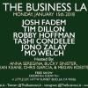 Quick Dish LA: THE BUSINESS LA 1.15 at Little Joy with Fadem! Dillon! Condelee! & More!