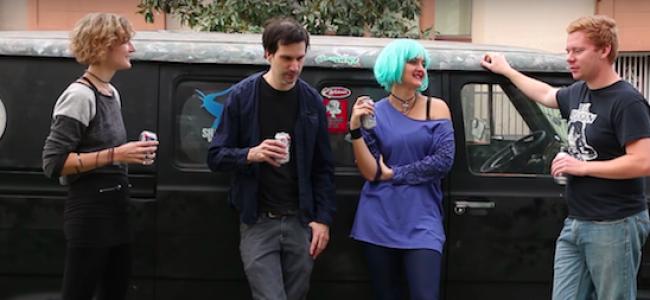 Video Licks: Punk Rockers Destroy A Corporate Symbol in The New NIGHTPANTZ Punk Documentary