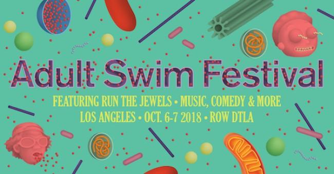 Tasty News: Oct 6-7 The ADULT SWIM FESTIVAL Arrives at ROW DTLA