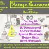 Quick Dish LA: ONE NIGHT ONLY 8.9 VINTAGE BASEMENT Neo-Retro Night at Dynasty Typewriter