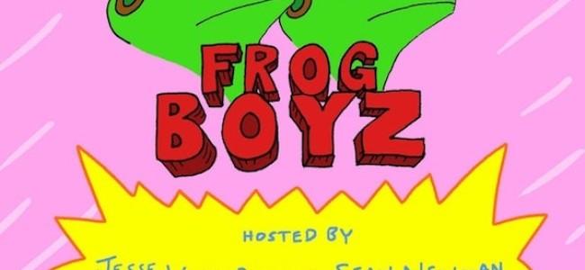 Quick Dish NY: FROG BOYZ Live Show & Animation Screening 9.16 at Union Hall