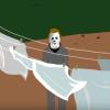 Video Licks: CHRIS GETHARD is Animated Michael Myers in FROG BOYZ' Version of HALLOWEEN
