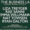 Quick Dish LA: THE BUSINESS LA 1.21 at Little Joy with Treyger! Sanni! Willmann! & More!