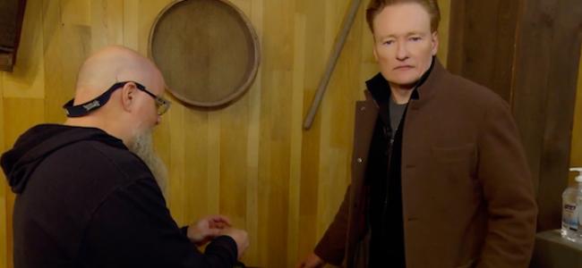 "Video Licks: Conan O'Brien Creates the ""Conan Brew"" at The Samuel Adams Brewery in Boston"