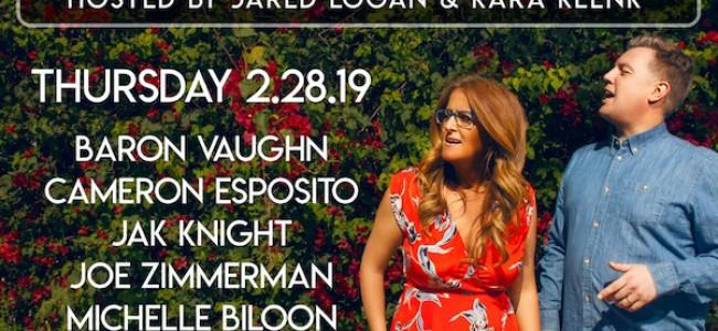 Quick Dish LA: TONIGHT Better Half Comedy with Kara Klenk & Jared Logan at Bar Lubitsch