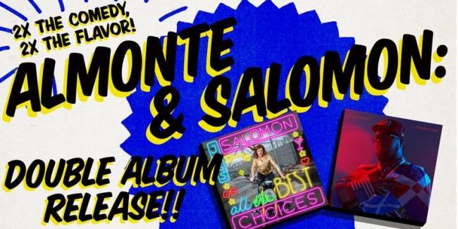 Quick Dish NY: ALMONTE & SALOMON Double Album Release Party Tomorrow at C'mon Everybody