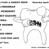Quick Dish LA: Tomorrow REAL PAIN A Comedy Show at Real Pain Fine Arts