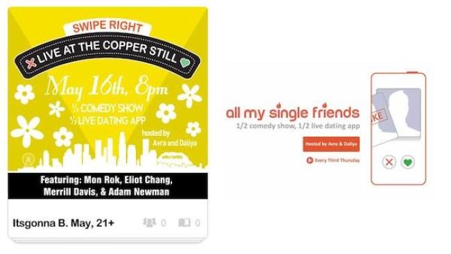 "Quick Dish LA: ALL MY SINGLE FRIENDS ""Pour Some Sugar On May"" Tomorrow at The Copper Still"
