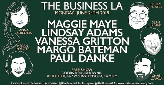 Quick Dish LA: THE BUSINESS LA Tonight at Little Joy