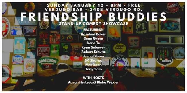 Quick Dish LA: Soak Up FRIENDSHIP BUDDIES This Sunday at Verdugo Bar