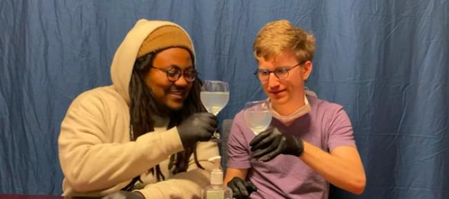 Video Licks: CORONAVIRUS QUARANTINE MUKBANG ASMR with Never Sad