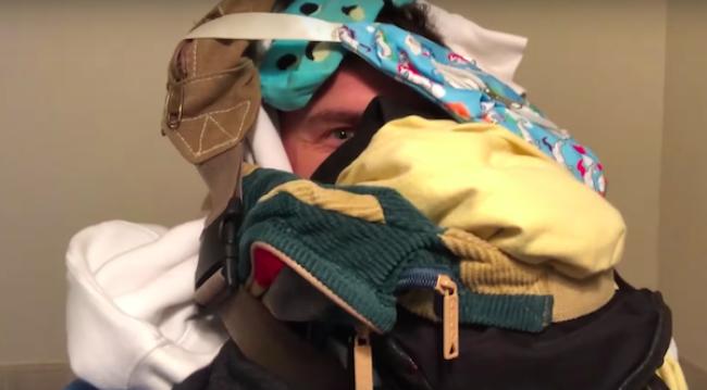 "Video Licks: FLULA Makes A ""DUI Face Mask"""