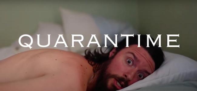 Video Licks: Still Inside And Working That QUARANTIME RAP