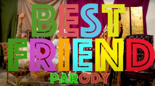 "Video Licks: The ""Golden Gals"" Present A BEST FRIEND Parody That Goes  Full Ben Gay & Bingo"