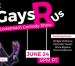 "Quick Dish Quarantine: ""Gays R Us"" Comedy Show 6.24 Online at RushTix"