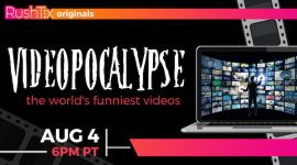 Quick Dish Quarantine: VIDEOPOCALYPSE Online 8.4 with Live Studio Audience at RushTix