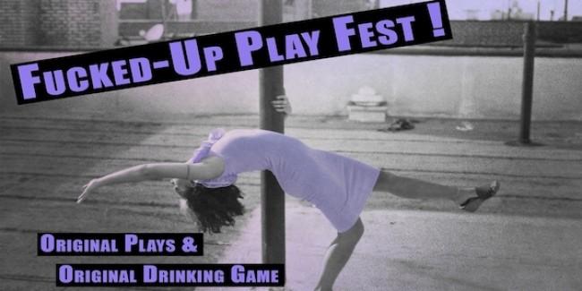 Quick Dish NY: F*CKED-UP PLAY FEST & Livestream 8.25 at Caveat