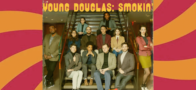 Quick Dish NY: YOUNG DOUGLAS Smokin' Sketch Comedy Squirrel Caveat Show 9.25