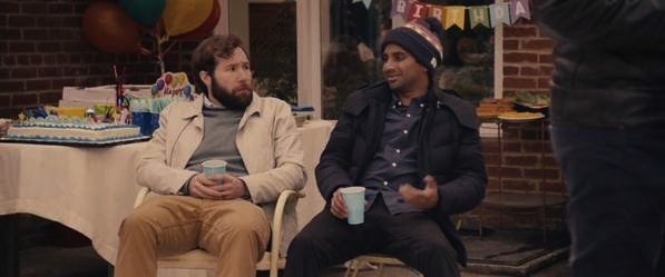 "David Ebert and Aziz Ansari ""Master of None"" on Netflix"